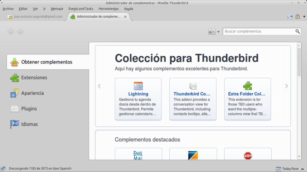 Administrador de complementos - Mozilla Thunderbird_036