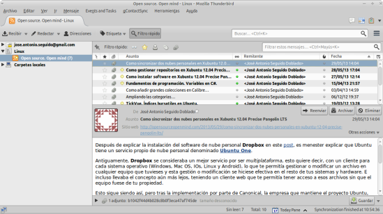 Open source. Open mind - Linux - Mozilla Thunderbird_075