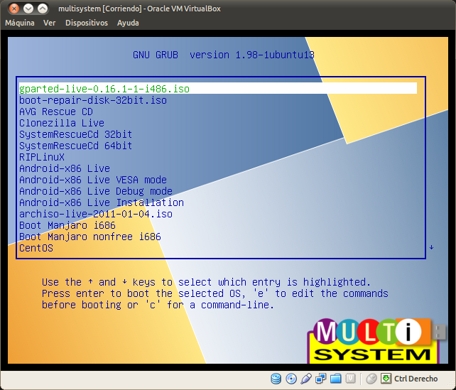 multisystem [Corriendo] - Oracle VM VirtualBox_108
