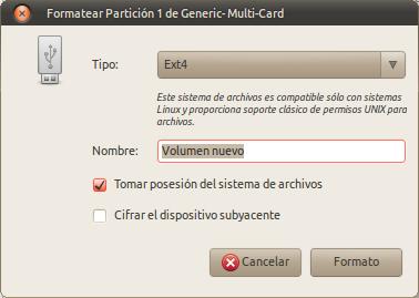 Formatear Partición 1 de Generic- Multi-Card_006